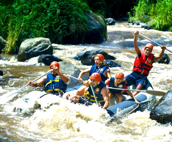 Rafting Sur La Rivière Ayung - 1/2 J